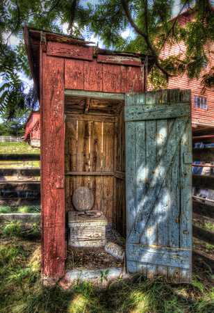 Red Outhouse